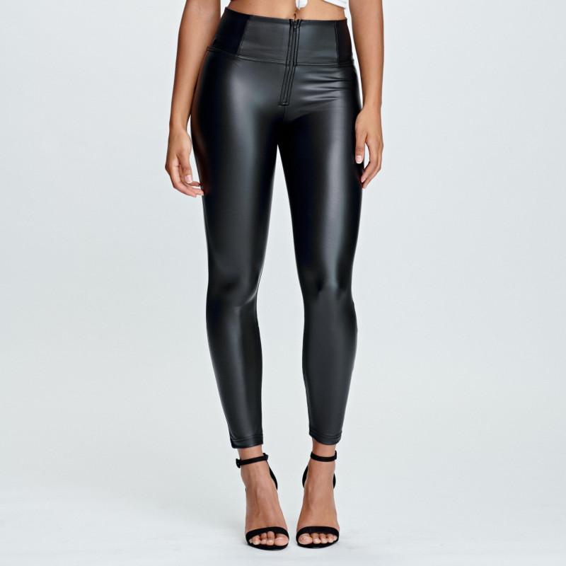 WR.UP® Ecoleder - 7/8 High Waist Super Skinny - Black - N0