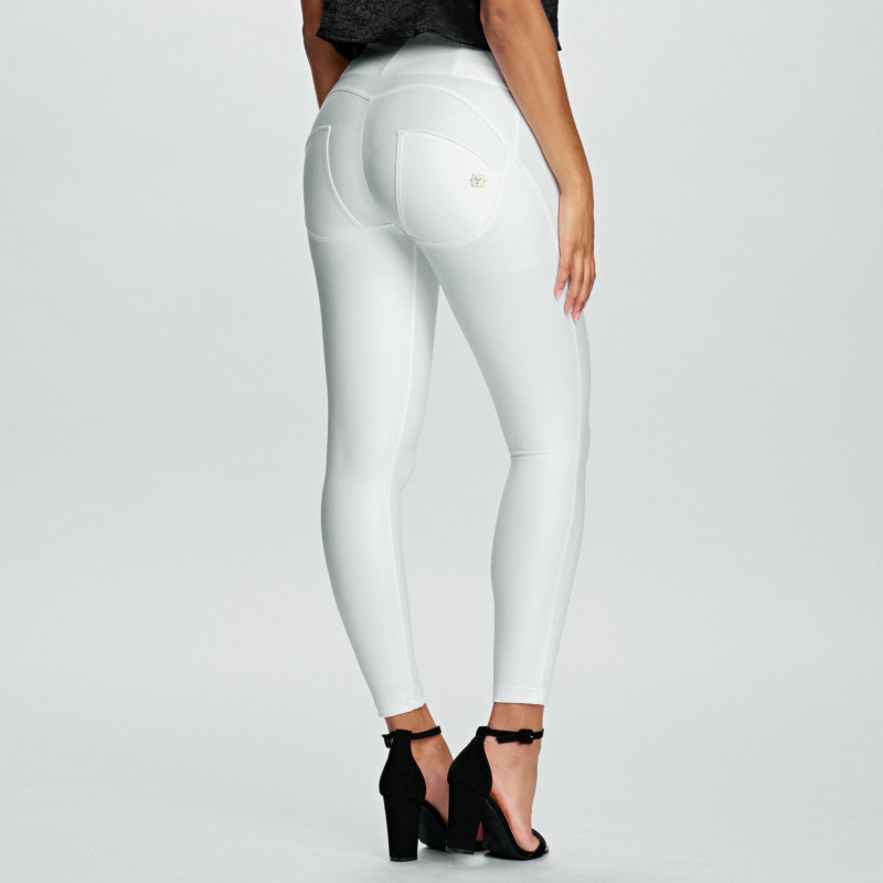 WR.UP® Ecoleder - 7/8 High Waist Skinny - White - W0
