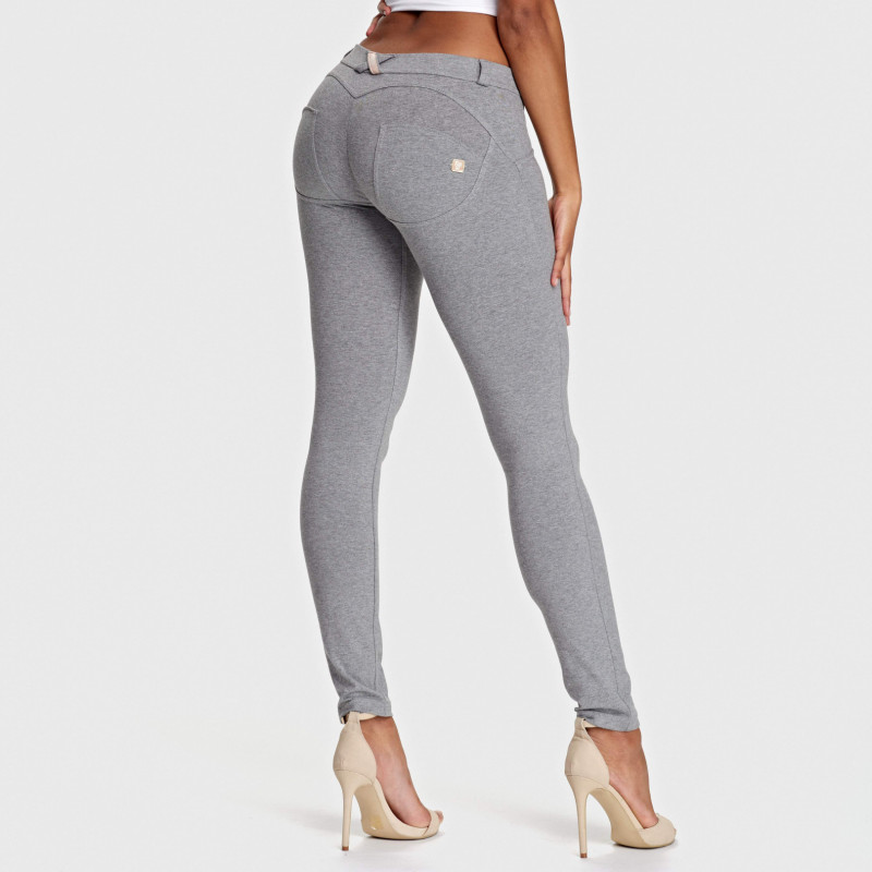 WR.UP® - Low Waist Skinny - Melange Grey - H400