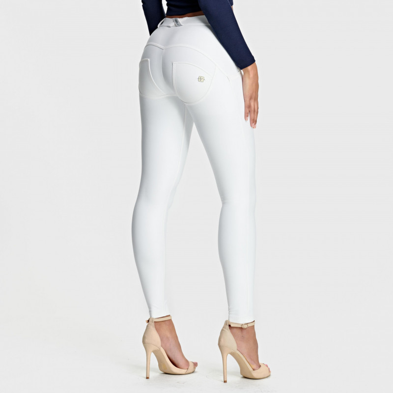 WR.UP® Ecoleder - Regular Waist Skinny - White - W0