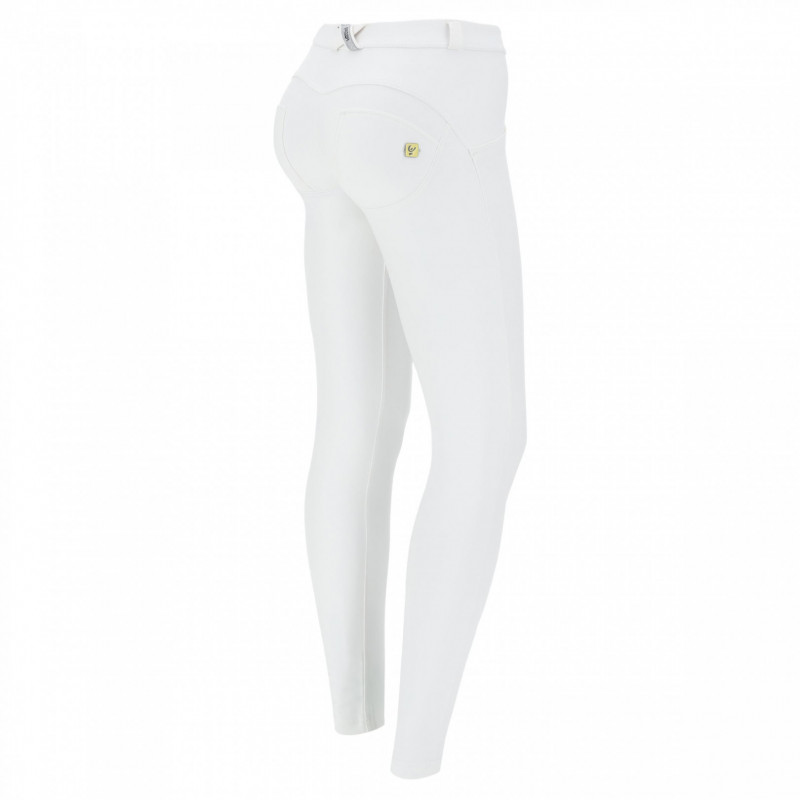WR.UP® Ecoleder - Low Waist Skinny - White - W0