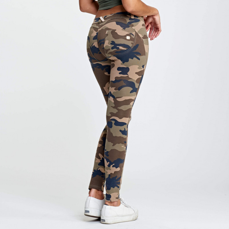 WR.UP® - Low Waist Skinny - Camouflage - M95M