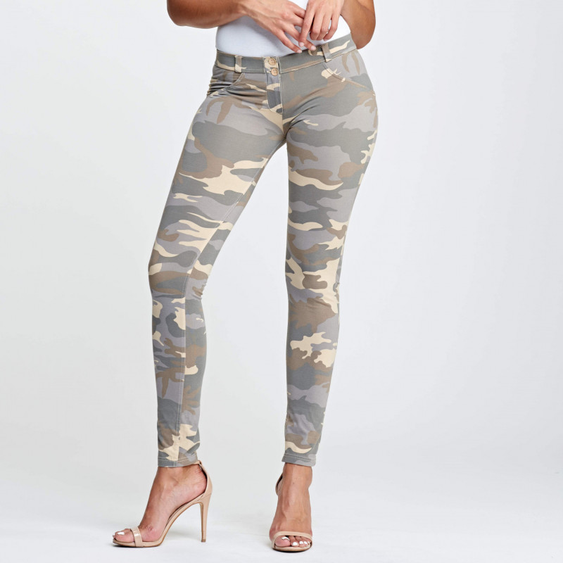 WR.UP® - Low Waist Skinny - Camouflage - Z48M