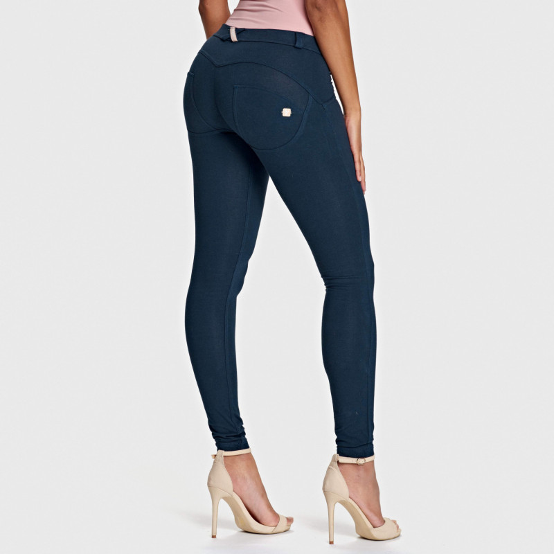 WR.UP® - Regular Waist Skinny - Navy Blue - B940