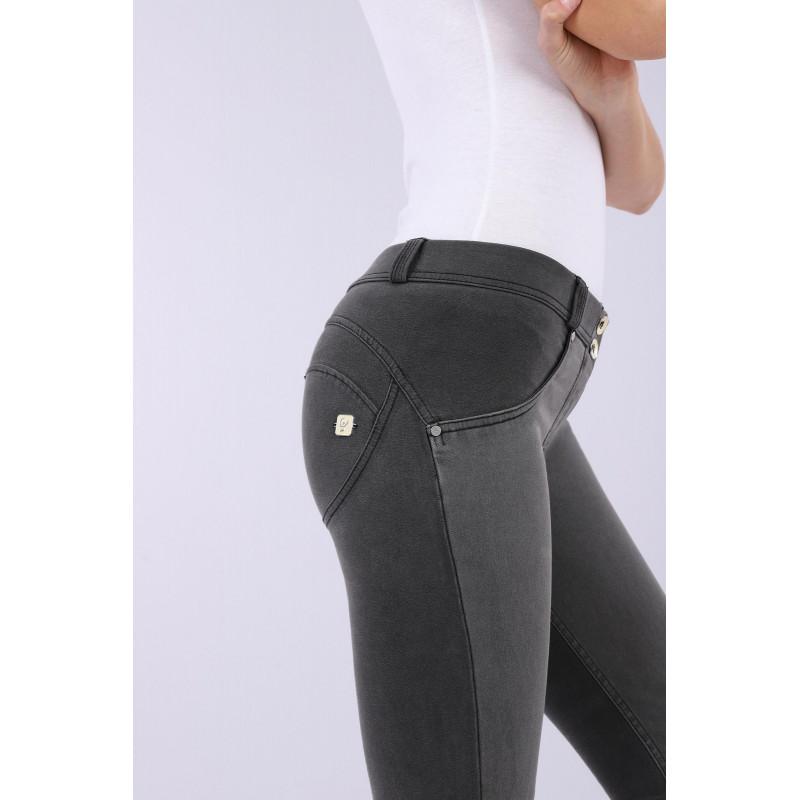 WR.UP® Denim - Regular Waist Skinny - True Denim - Black - N0