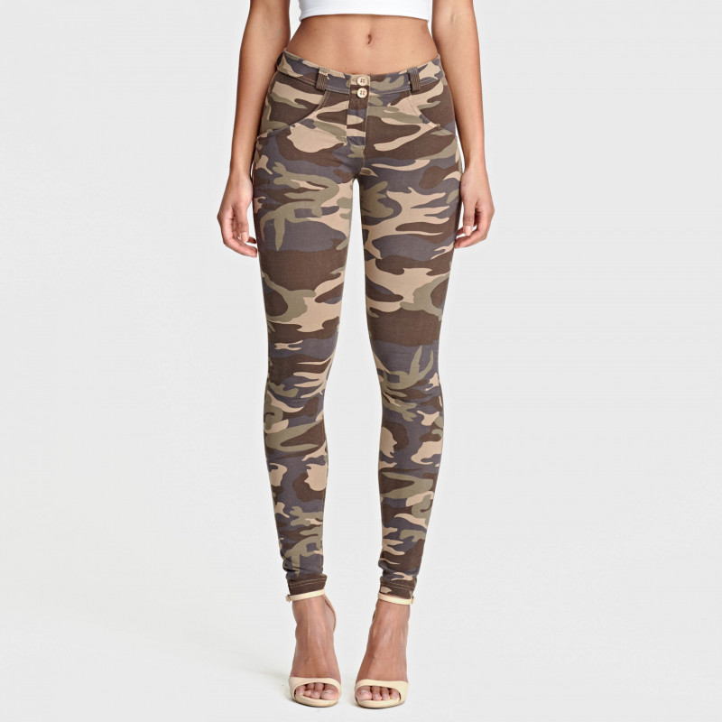 WR.UP® - Regular Waist Skinny - Camouflage - M95M