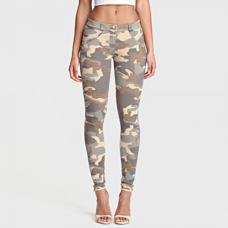 WR.UP® - Regular Waist Skinny - Camouflage - Z48M