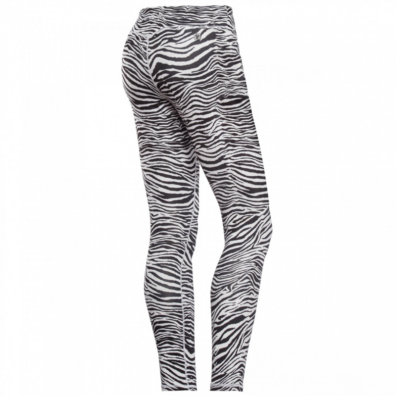 Leggings SUPERFIT D.I.W.O.® - Regular Waist - 7/8 - seitlicher Aufdruck in Kontrastfarbe - Animalprint 2