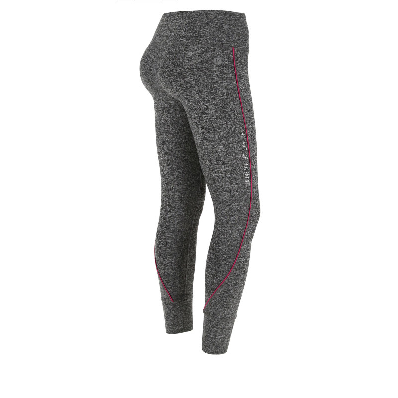 Leggings SUPERFIT D.I.W.O.® - 7/8 - Melange Dark Grey - Coral - N26QA