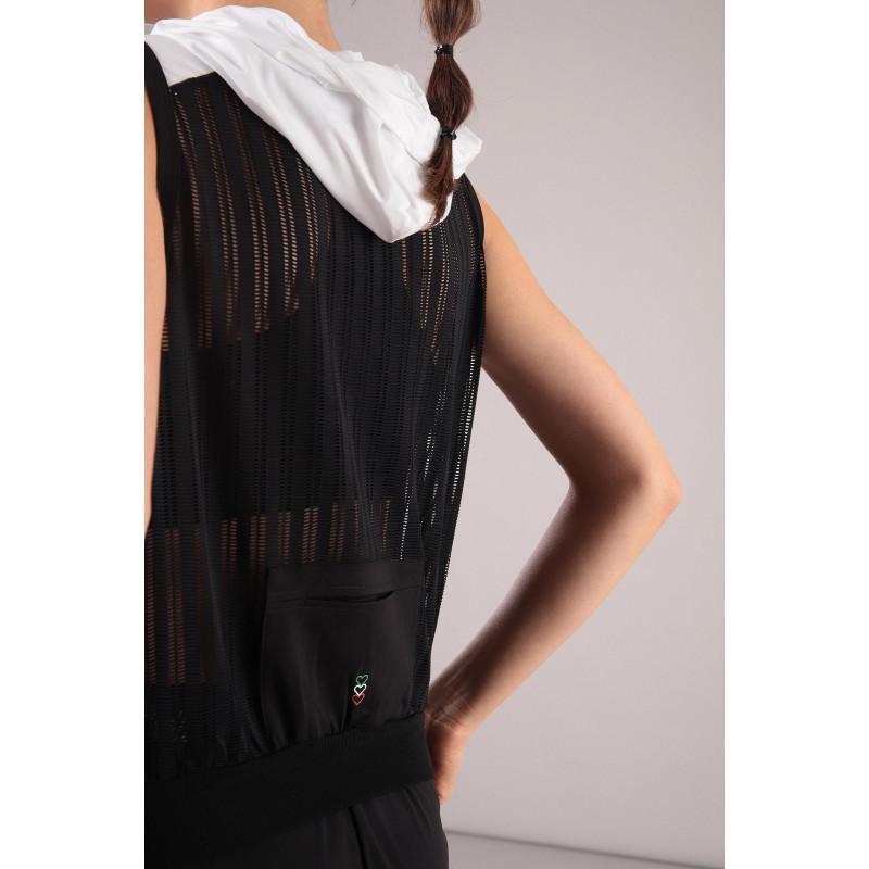 Ärmelloses Shirt - Made in Italy - Black - N0