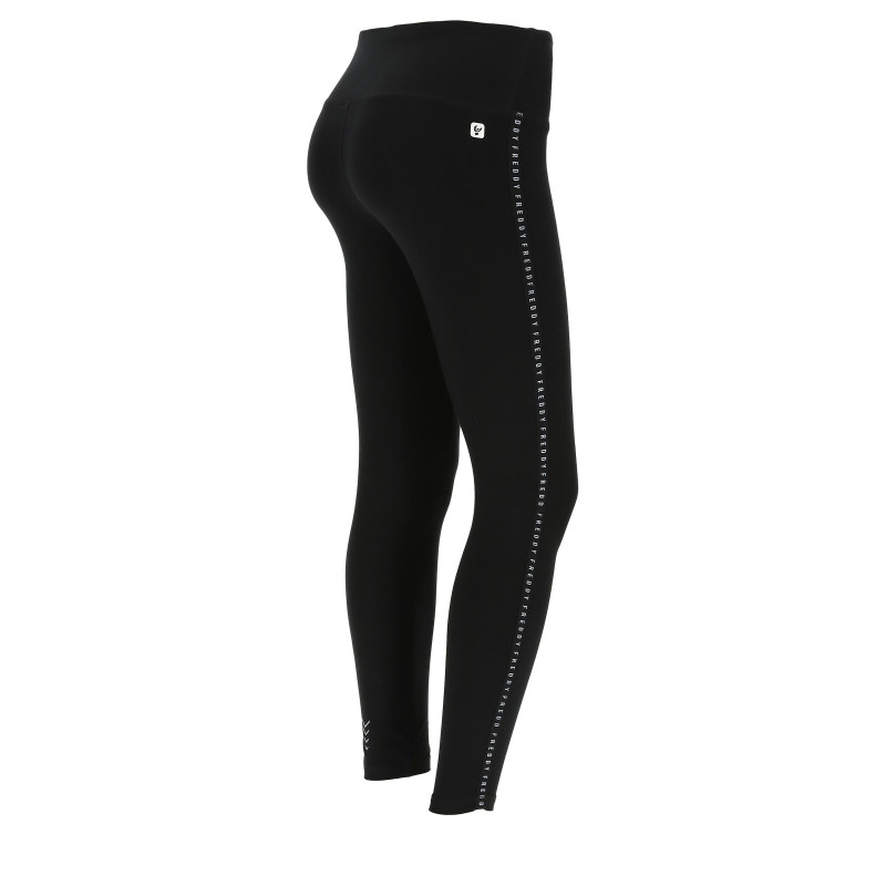 Leggings SUPERFIT - 7/8 - mit Freddy Streifen - Black - N0