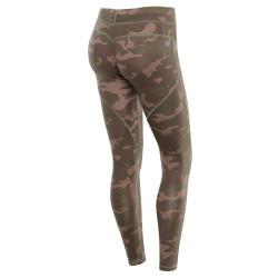 WR.UP® - Special Edition - Low Waist Skinny mit Reißverschluss am Knöchel - M95 - Camouflage