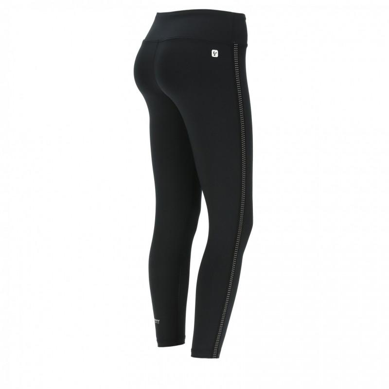 D.I.W.O.® Leggings in - 7/8 mit Mikronieten - Black - N0