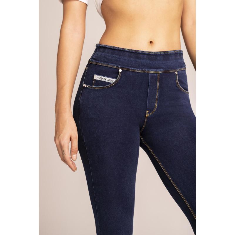 N.O.W.® Yoga - Skinny mit umschlagbarem Taillenbund - J0Y