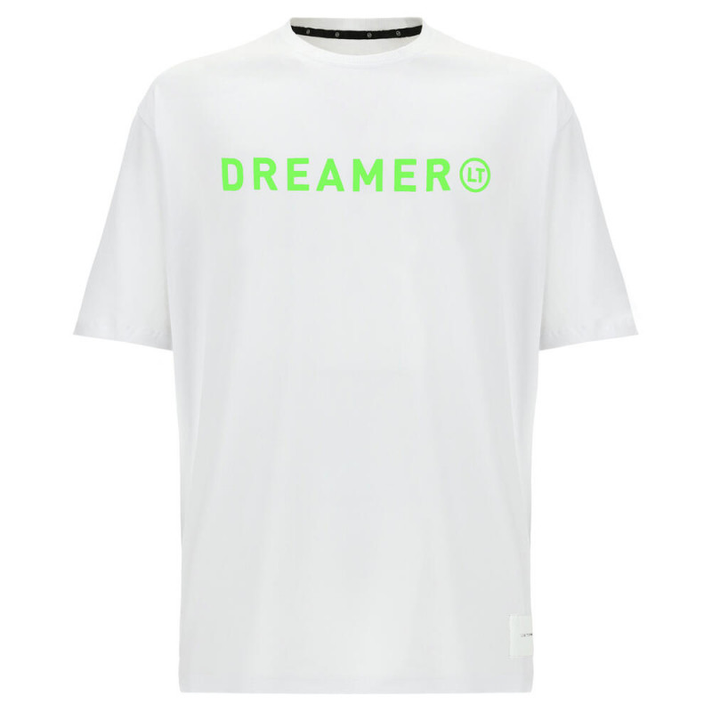 Unisex T-Shirt Dreamer - A Choreography by Luca Tommassini - White - Green Fluo - WD910