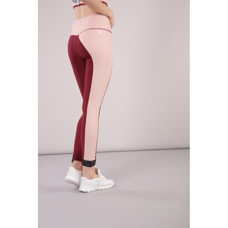 Leggings SUPERFIT - 7/8 - Made in Italy - Cordovan - Cameo Rosé - K85P0