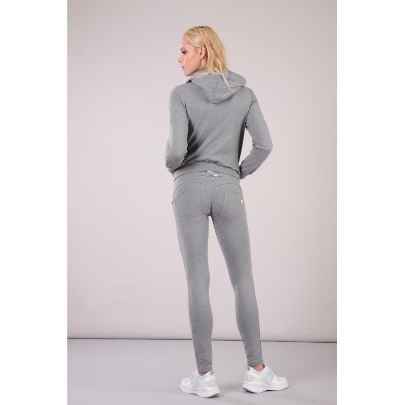 WR.UP®-IN- Freizeitanzug - mit WR.UP® Hose und Kapuzensweatshirt - Melange Grey - H40
