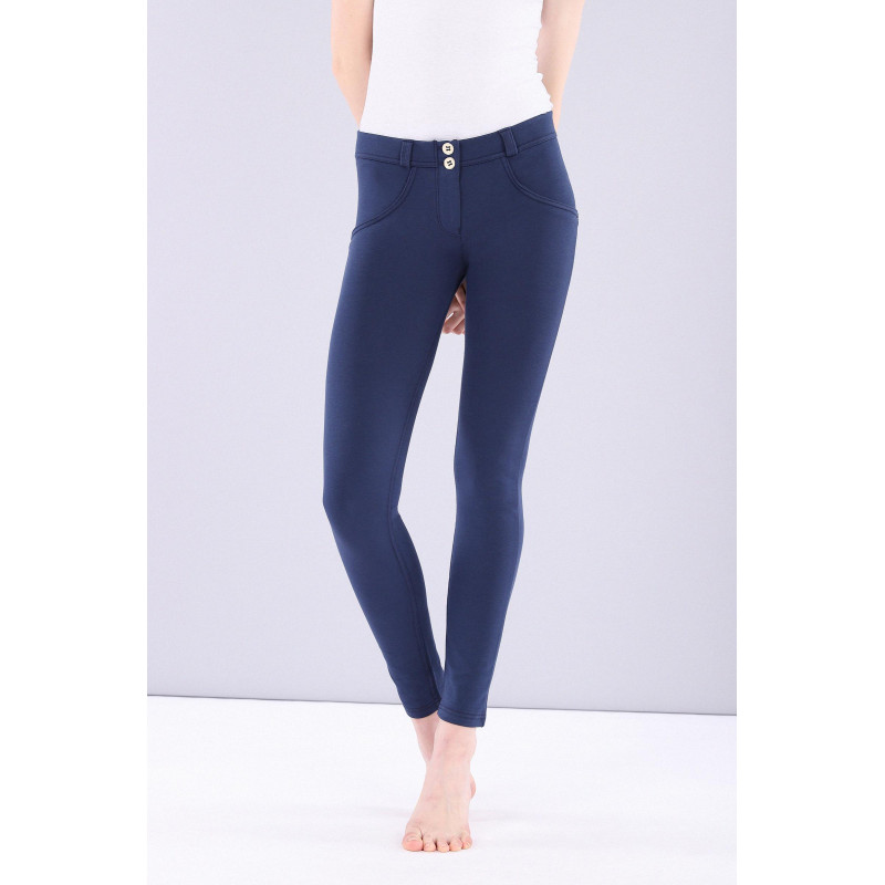 WR.UP® - Regular Waist Skinny - Made in Italy - Mood Indigo - B630