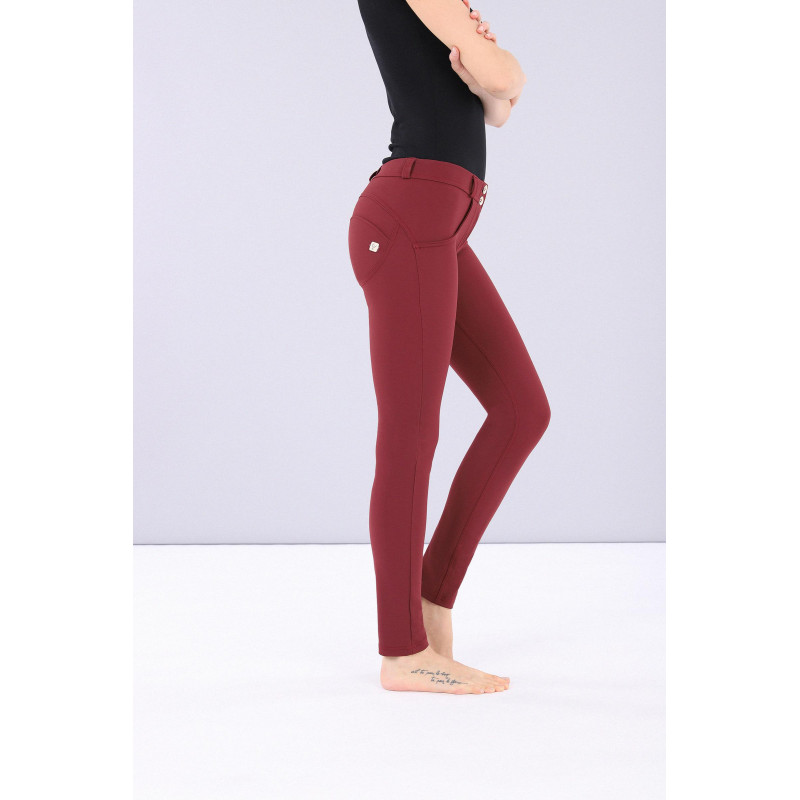 WR.UP® - Regular Waist Skinny - Made in Italy - Tawny Port - Fuchsia - K83F0