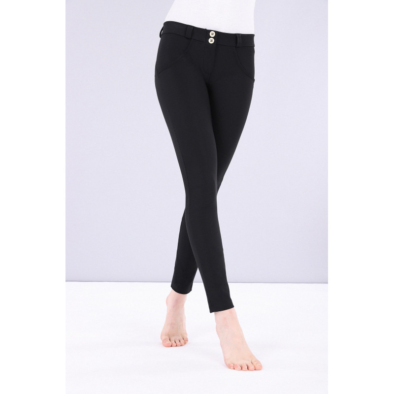 WR.UP® - Regular Waist Skinny - Made in Italy - Black - White - NW0