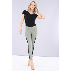 WR.UP® - Regular Waist Skinny mit Shaping-Effekt aus Ecoleder - N0