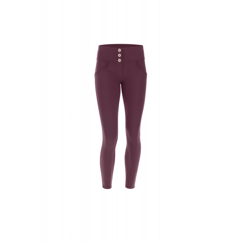 WR.UP® - D.I.W.O.® Pro - 7/8 Mid Waist Super Skinny - Bordeaux - K890