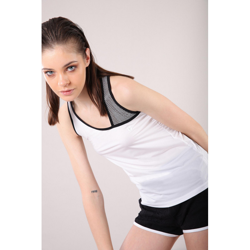 WR.UP® Denim - High Waist Skinny mit Denim-Effekt - J7N - Black Denim-Black Seam