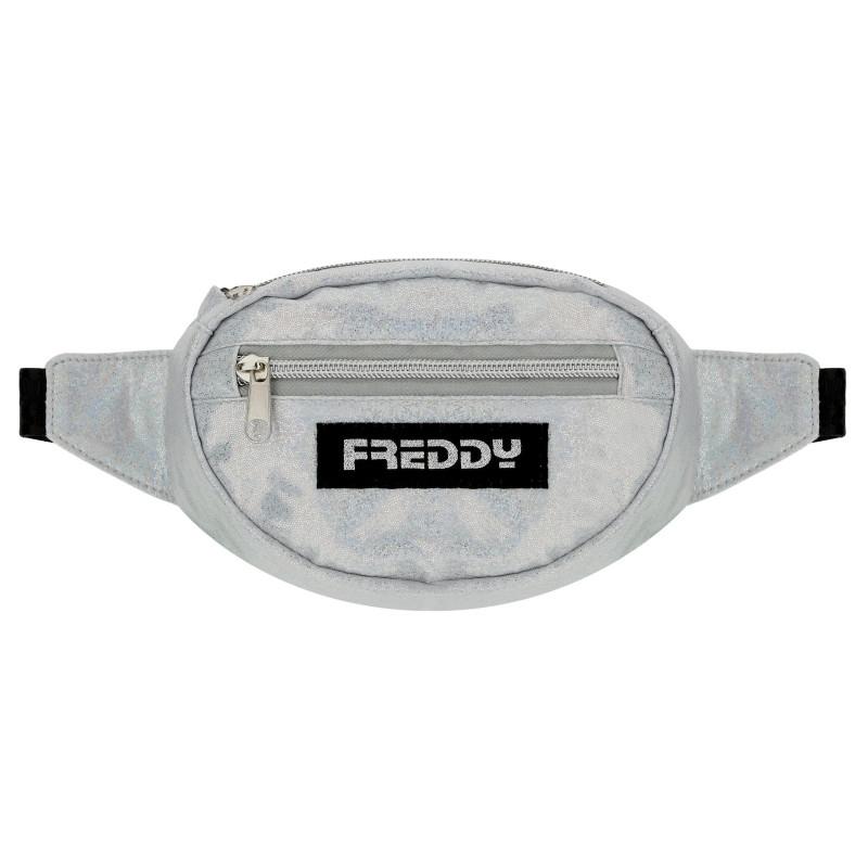 Freddy Bauchtasche - glänzend - Silver S0