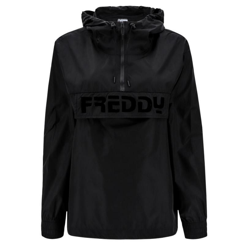 Freddy Komfort-Jacke - aus Nylon - Black - N0