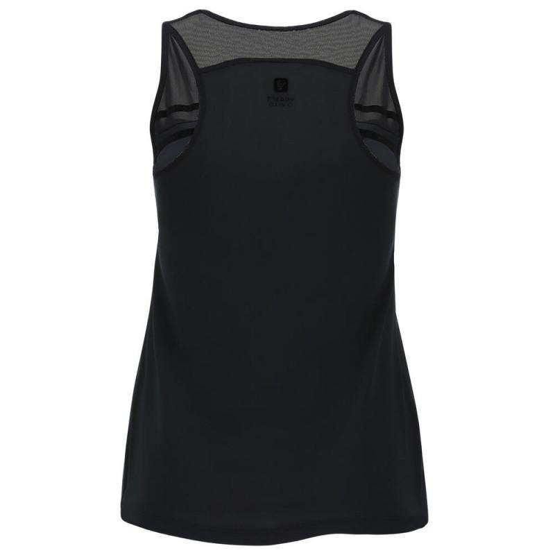 Ärmelloses D.I.W.O.® Shirt - mit Tülleinsätzen - Black - N0