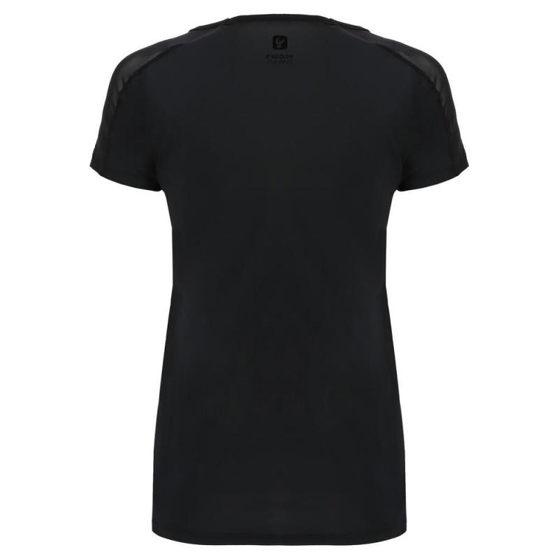 Kurzarm T-Shirt aus D.I.W.O.® - Black - N0