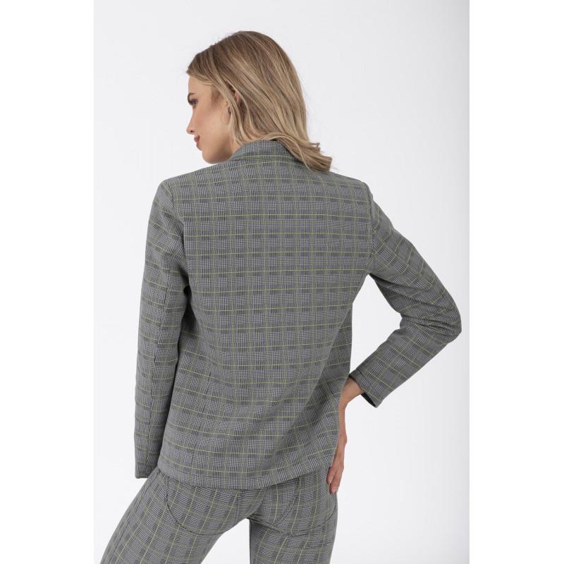 D.I.W.O.® Blazer - Leger - Glencheck-Pattern - NGR0