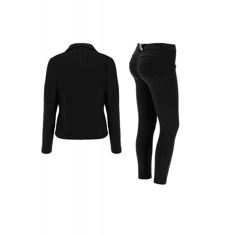 WR.UP®-IN- Freizeitanzug - mit Blazer und 7/8 WR.UP® Hose - Black - N0