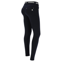 WR.UP® - High Waist Skinny mit Shaping-Effekt aus Ecoleder