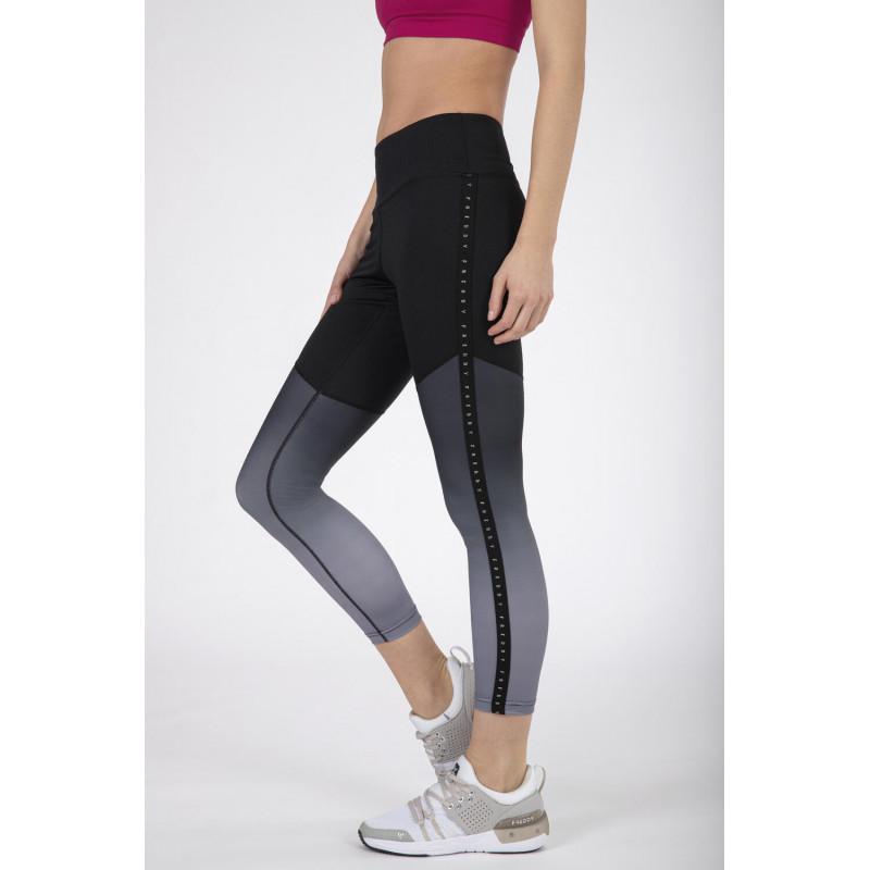 Leggings SUPERFIT - D.I.W.O.® - 7/8 - Black - Grey - Degradè - NG40