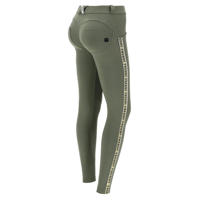 WR.UP® Regular Waist Skinny in Biker-Optik - Paisley Print - V320