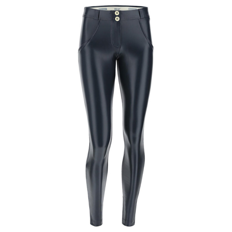 WR.UP® - Regular Waist Super Skinny - Metallic Effekt - Phantom - G1080