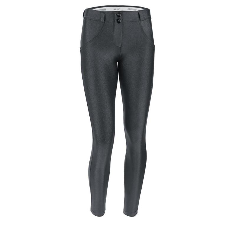 WR.UP® Regular Waist Skinny in Biker-Optik - Paisley Print - N0