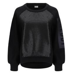 WR.UP® D.I.W.O® Lurex - Regular Waist Skinny - N0 - Spotted Black