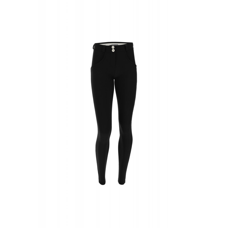 WR.UP® - Regular Waist Skinny - N0 - schwarz