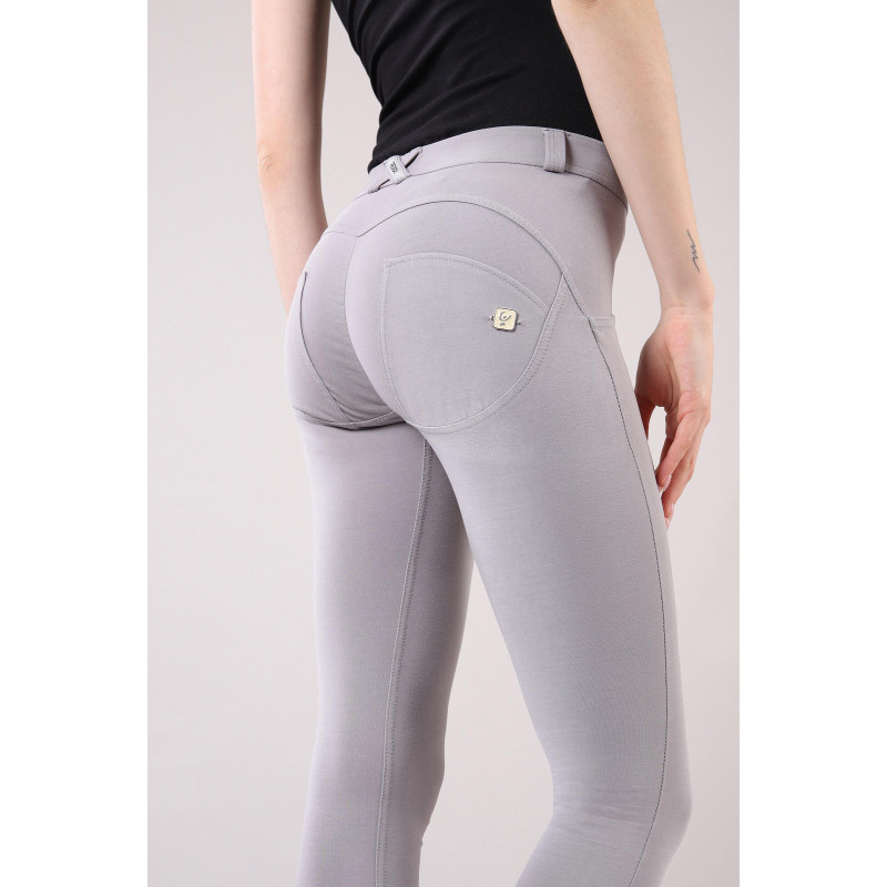 WR.UP® - Regular Waist Super Skinny - Faded Look - Grey - G360