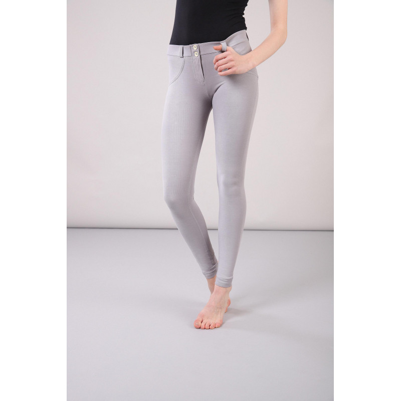 WR.UP® - Regular Waist Super Skinny - Faded Look - Grey - G36