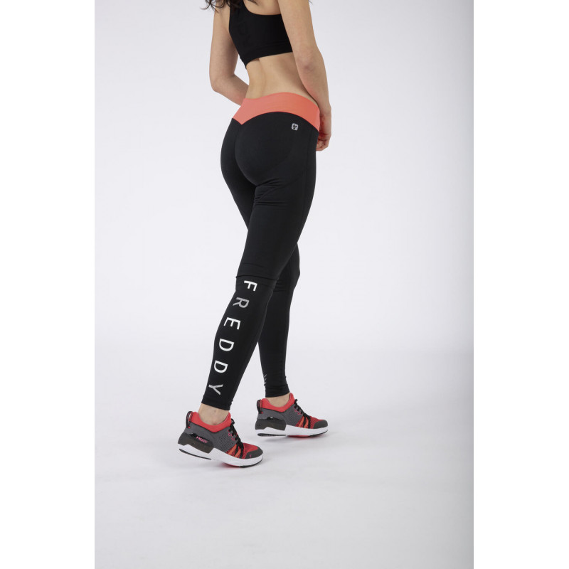 WR.UP® Sport D.I.W.O.® - Regular Waist Skinny - Black - Coral - NA1030