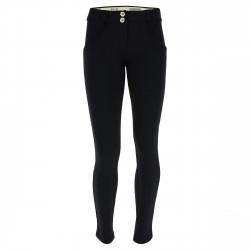 WR.UP® Denim - Regular Waist Skinny - Distressed - N0 - Black