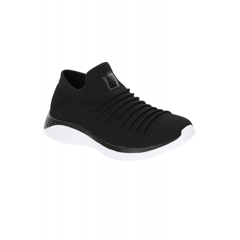 Slip-On Sneakers - Black - N0