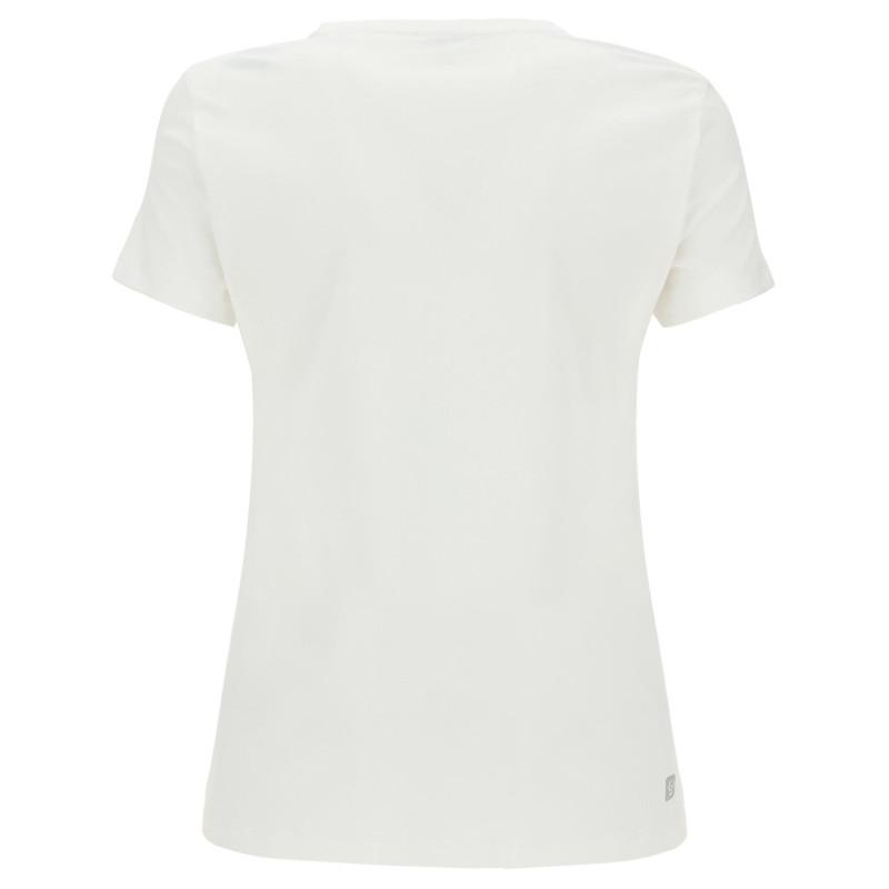 Kurzarm T-Shirt - mit Freddy Aufdruck - White - W0