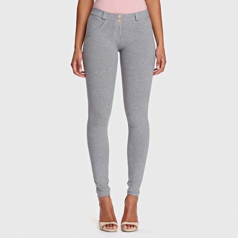WR.UP® - Regular Waist Skinny - Melange Grey - H400