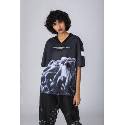 Hose aus stückgefärbter Popeline mit Chino-Passform - NCD0