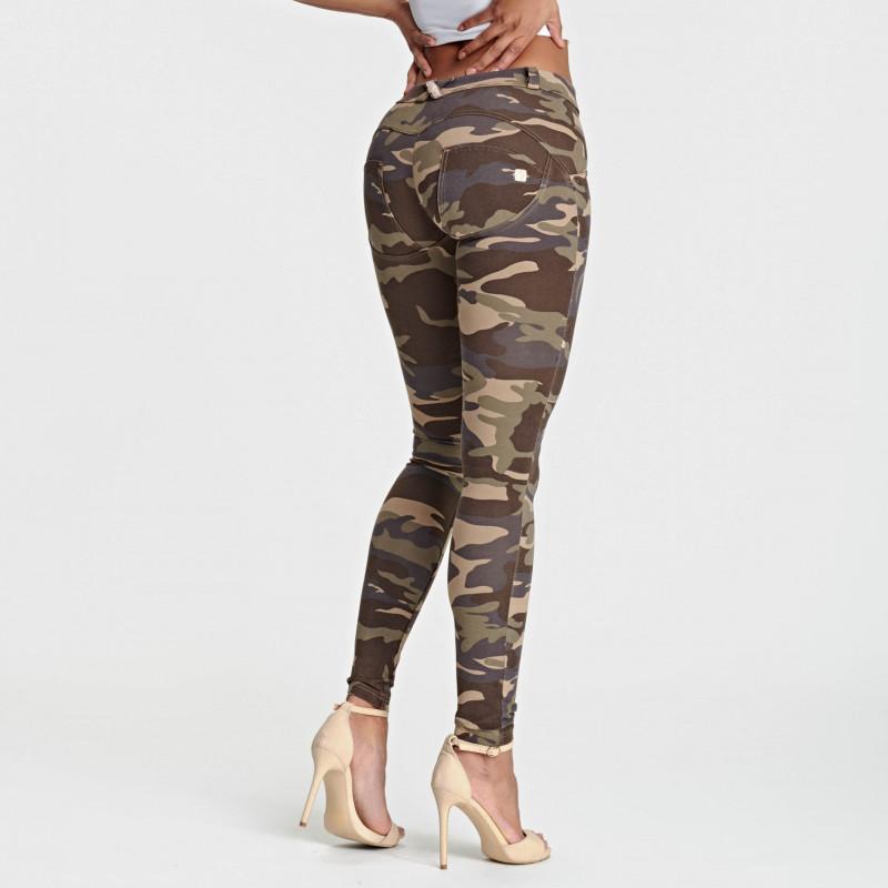 WR.UP® - Regular Waist Super Skinny - Camouflage - M95M