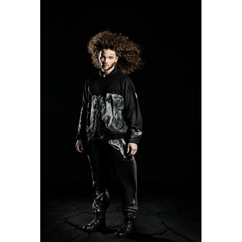 Unisex Bomberjacke - A Choreography by Luca Tommassini - Foto-Aufdruck - Black - NW7